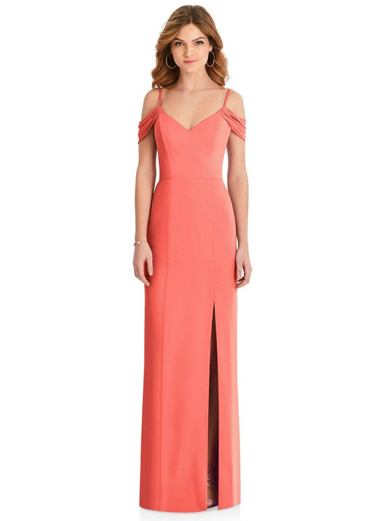 033d15a13c6 11 Of The Best Coral Bridesmaid Dresses For Every Shape   Size