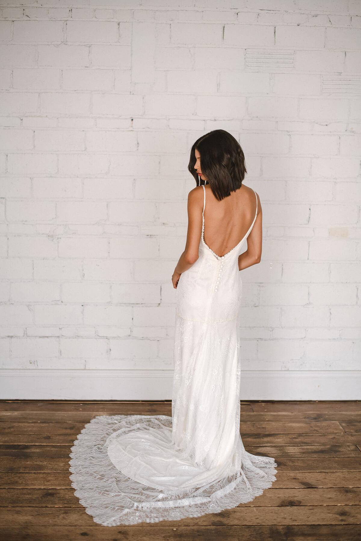 Eco-Friendly Wedding Dress by Celia Grace