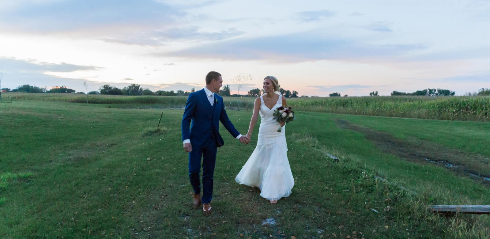 Vineyard Wedding in Central Minnesota