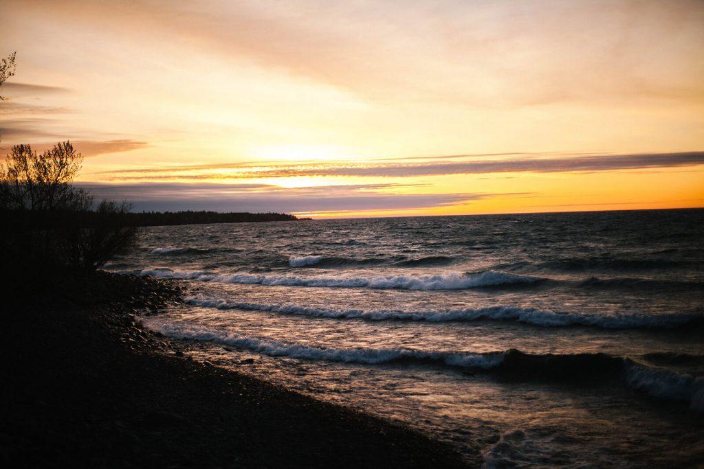 Sunrise at Stoney Point Minnesota