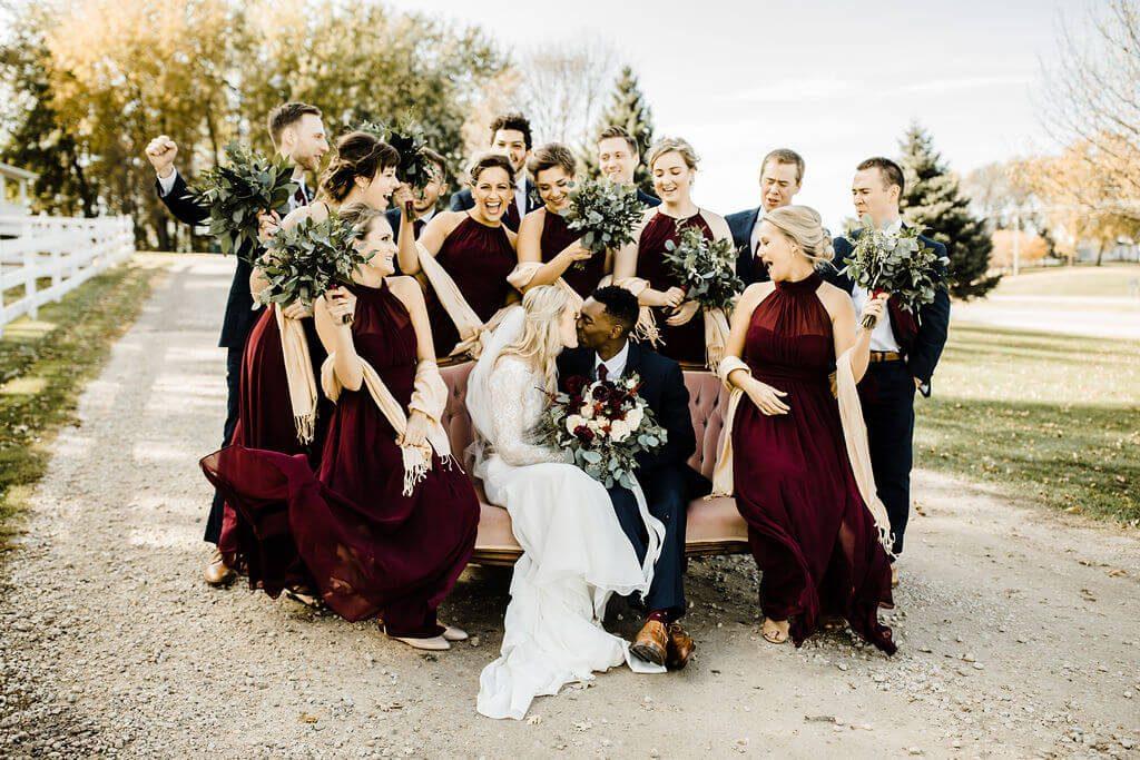 Bridal Party + Groomsmen Legacy Hills Wedding
