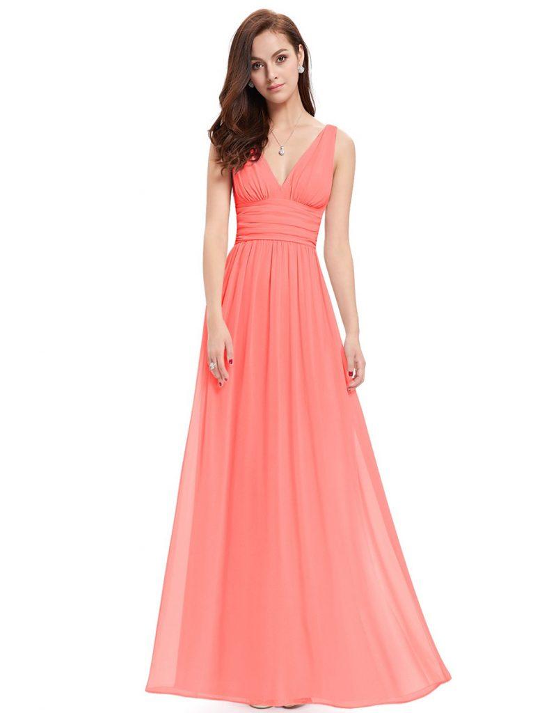 Best Budget-Friendly Coral Bridesmaid Dress