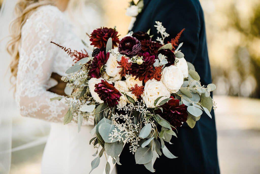 Floral Wedding Boquet at Legacy Hill Farms Wedding