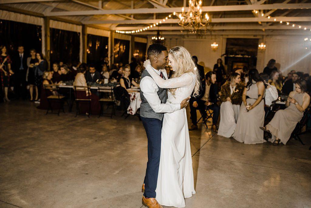 First Dance at Legacy Hill Farm Wedding