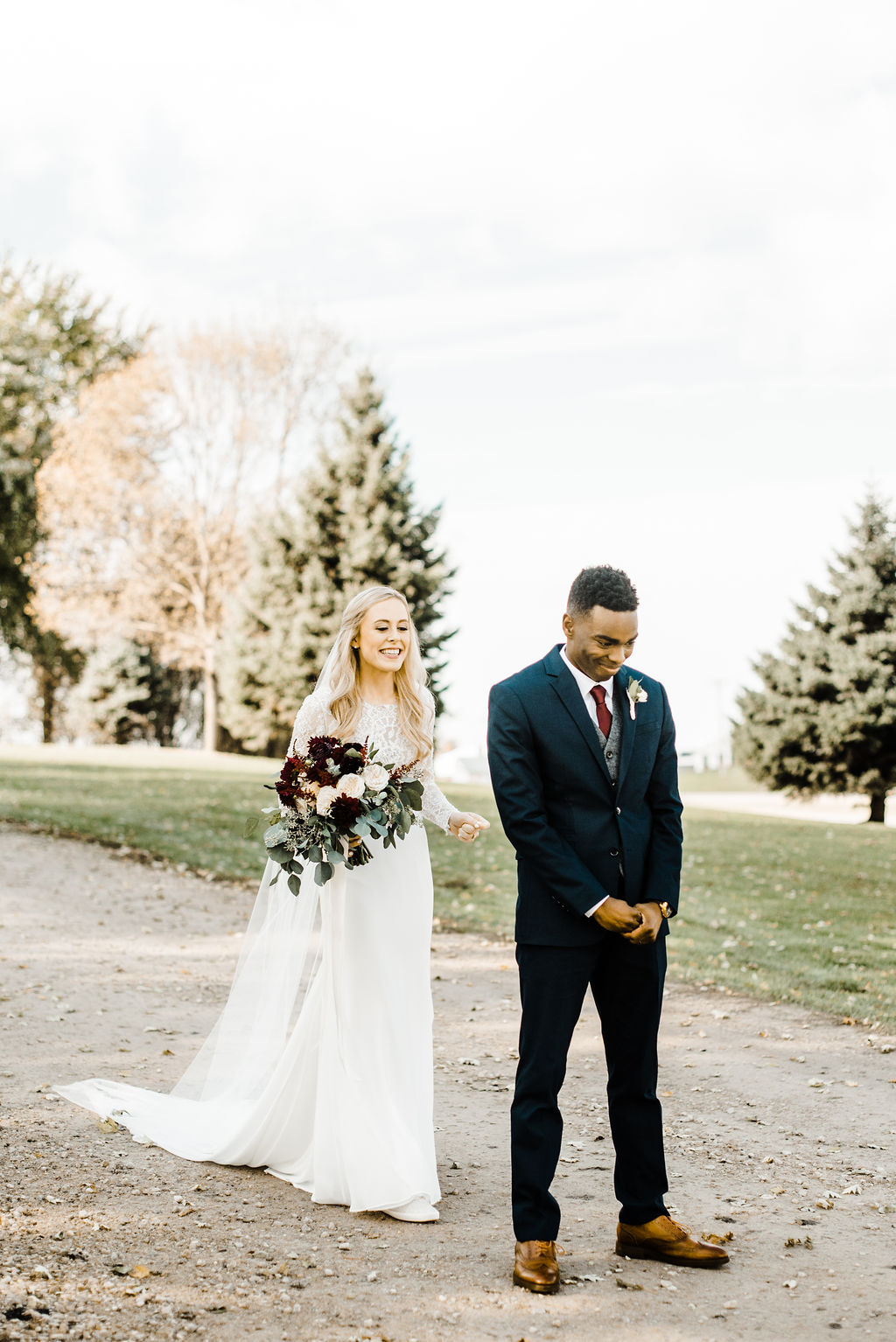 First Look At Legacy Hill Wedding