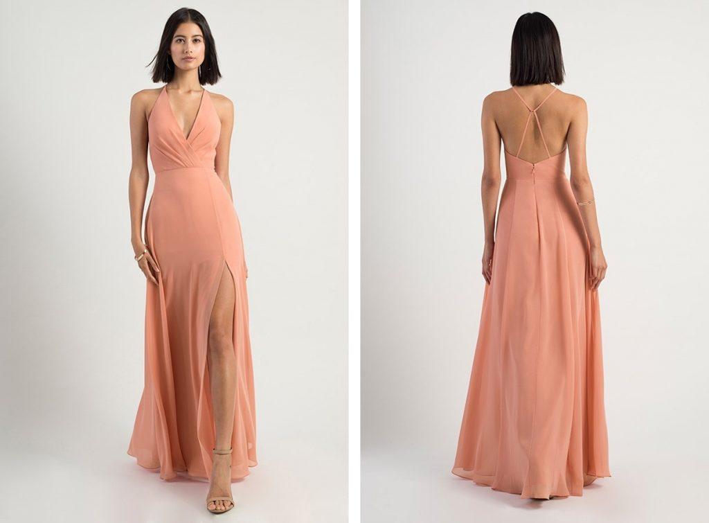 Light Coral Bridesmaid Dress