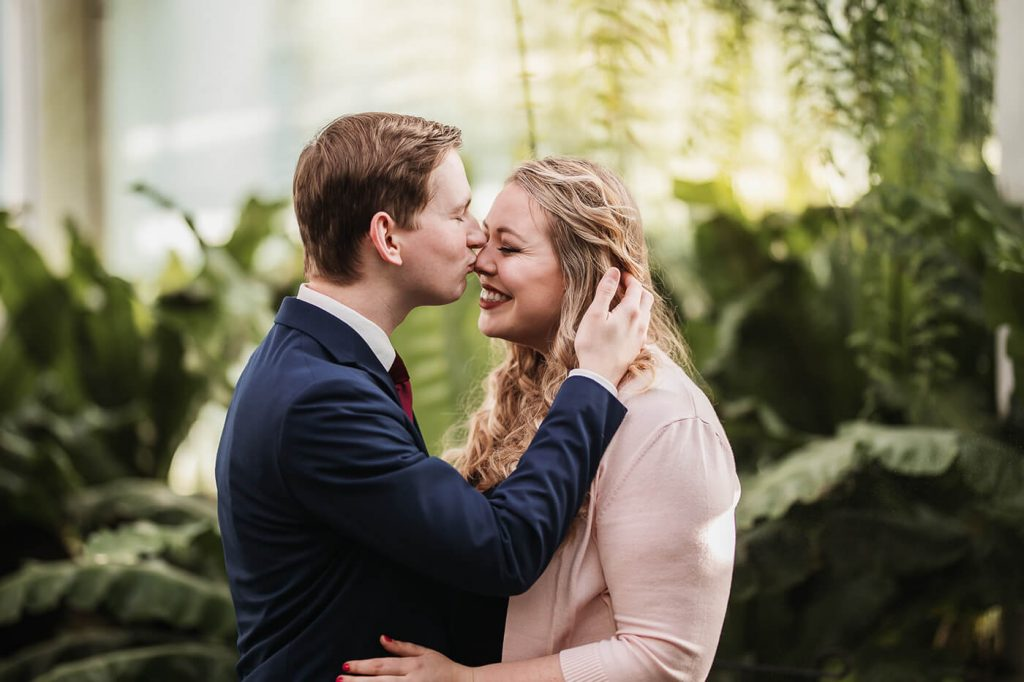 Twin Cities Winter Engagement Location