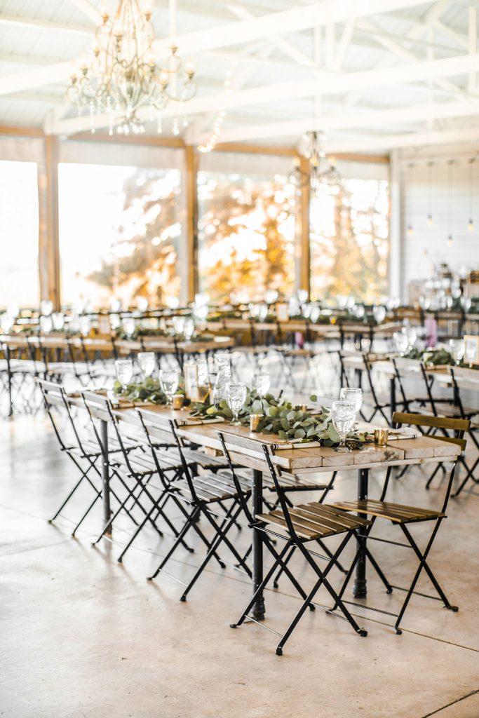 Wedding Reception At Legacy Hill Farms