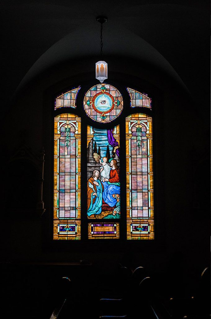 Stained Glass Window at St Mary's Church