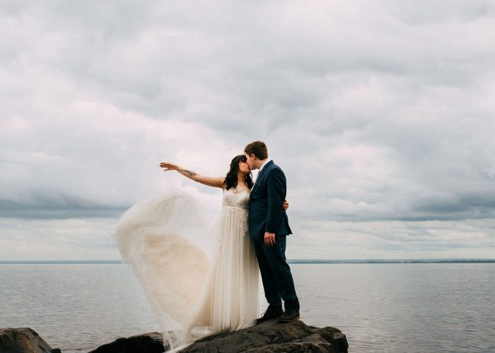 A Summer Wedding in Two Harbors