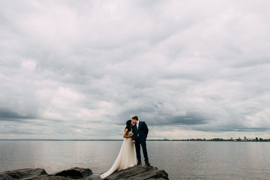 Lake Superior Wedding Portraits