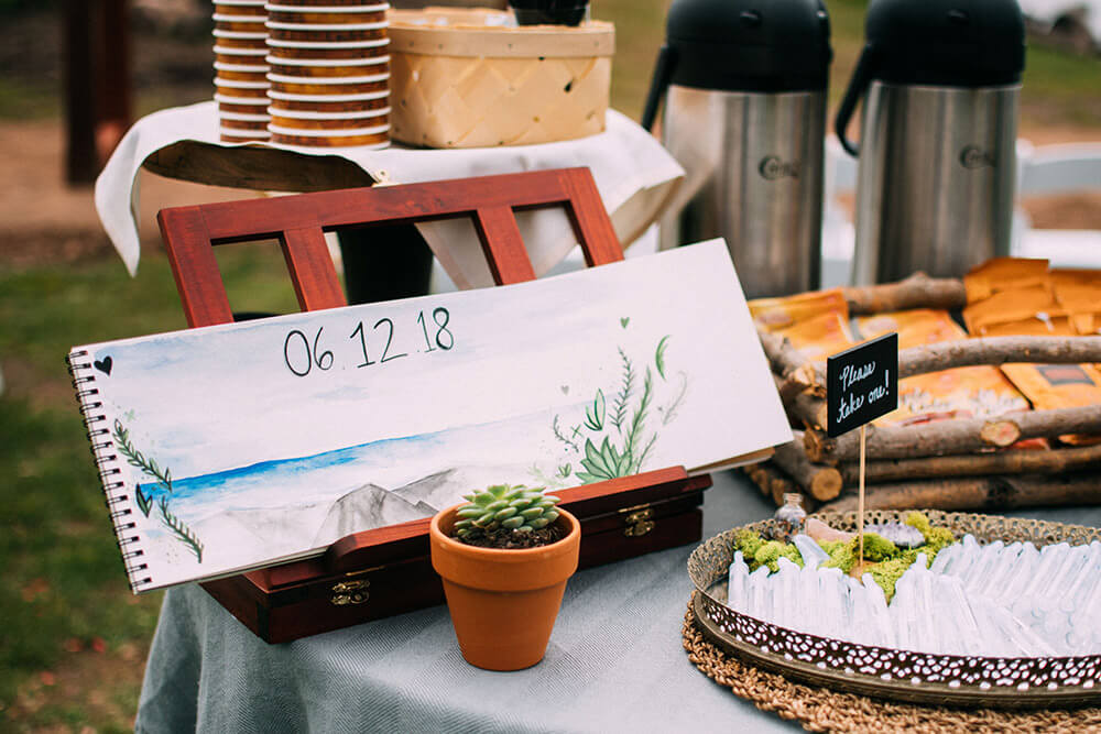 DIY Lake Superior Wedding Inspiration
