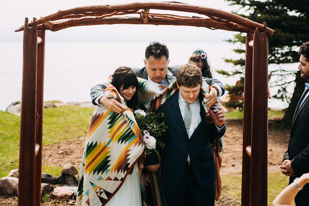 Native American Blanket Ceremony in Two Harbors