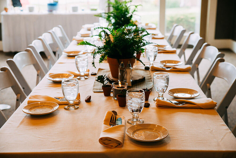 Organic Wedding Tablescape