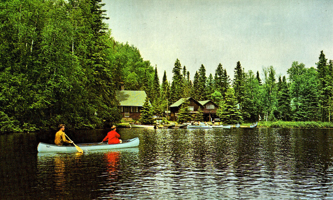 vintage photo of Bearskin Lodge