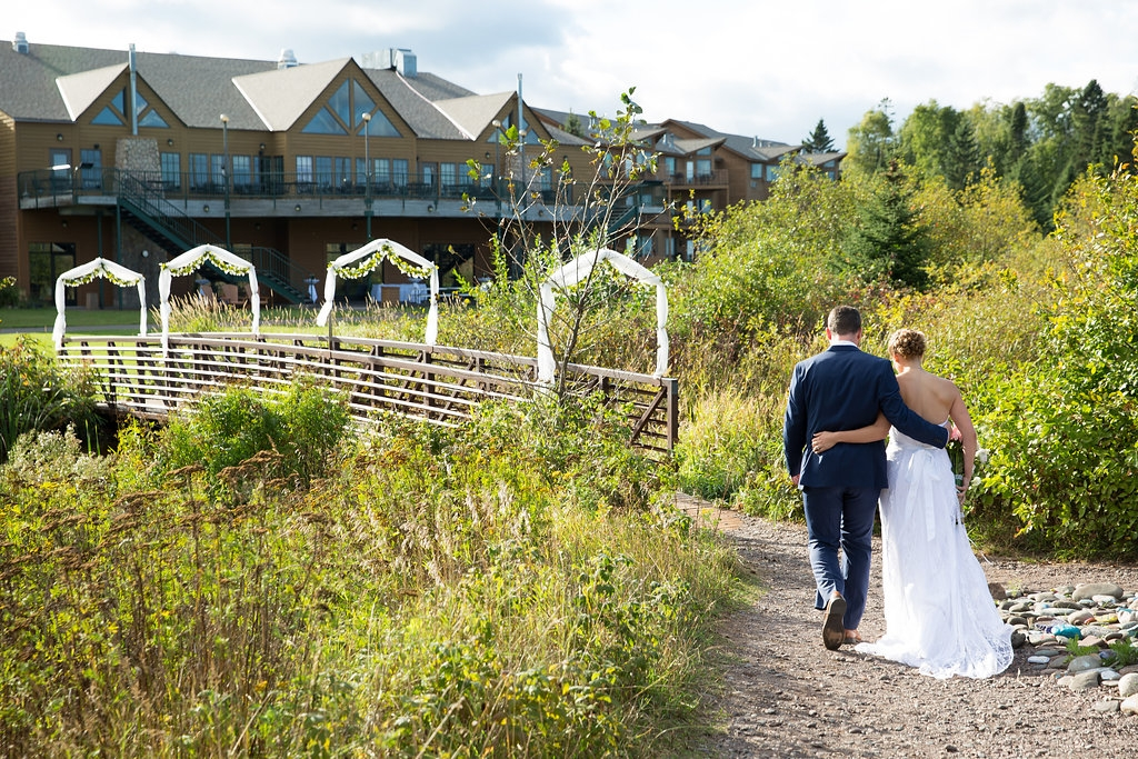 Superior Shores wedding venue and lodge