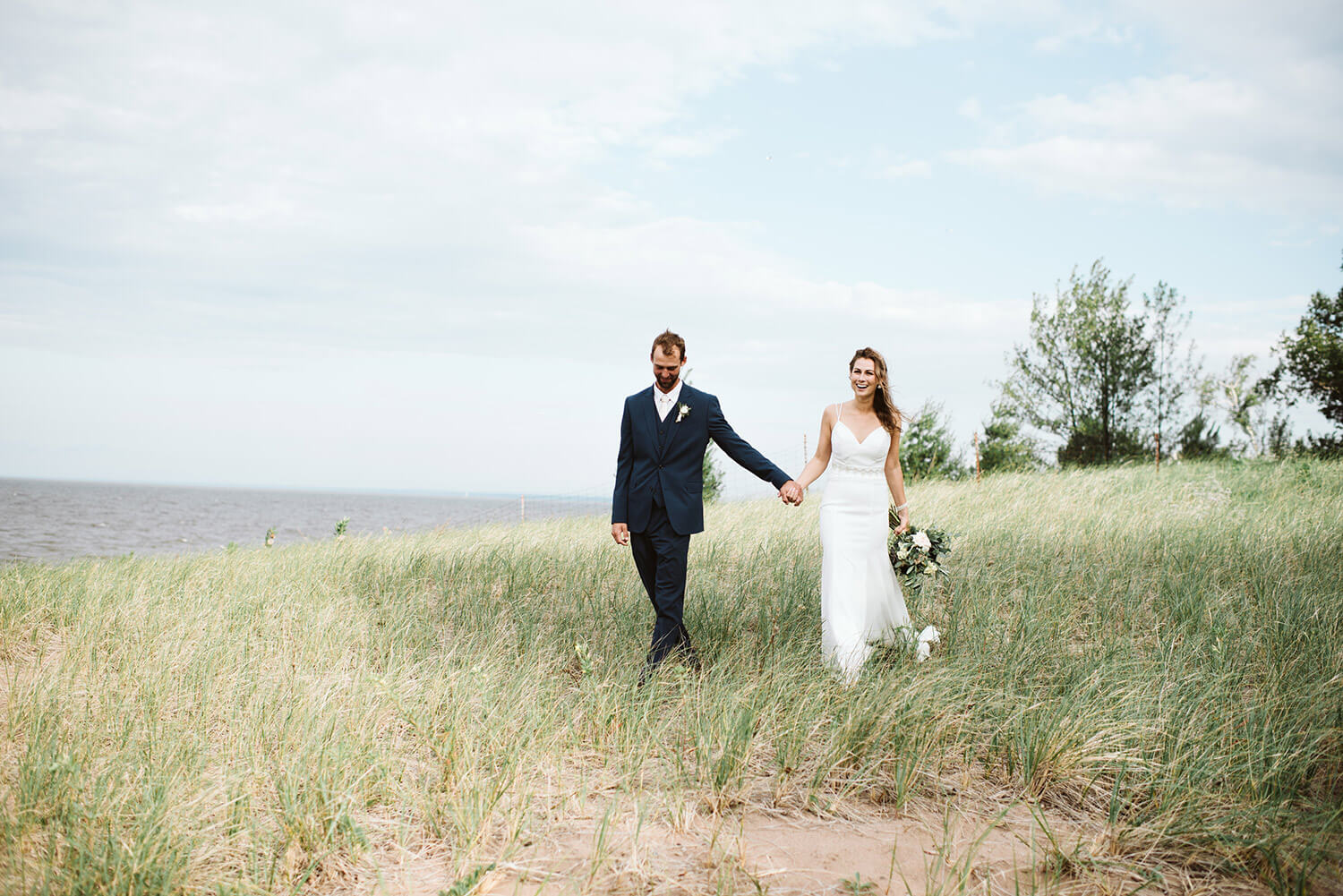Park Point Wedding in Duluth