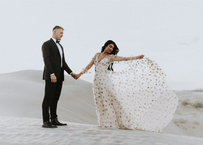 17 Starry Wedding Dresses We're Over The Moon For