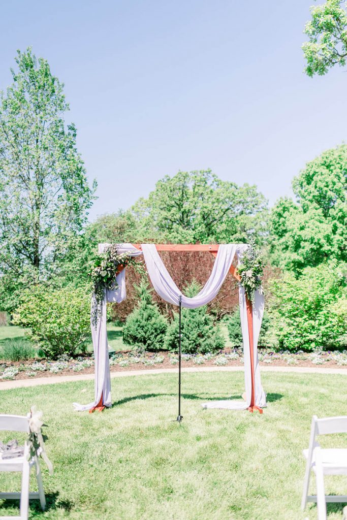 Boerner Botanical Gardens Wedding Ceremony