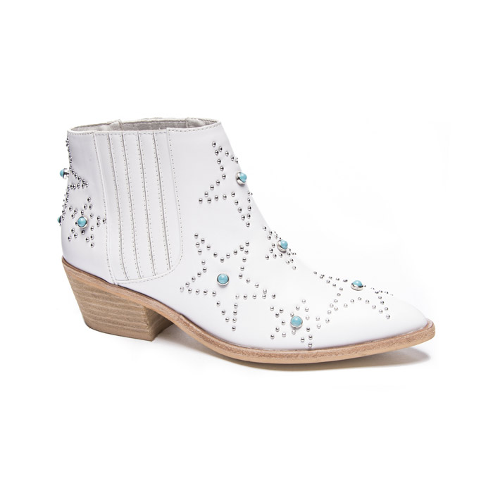 Embellished Leather Booties from Chinese Laundry