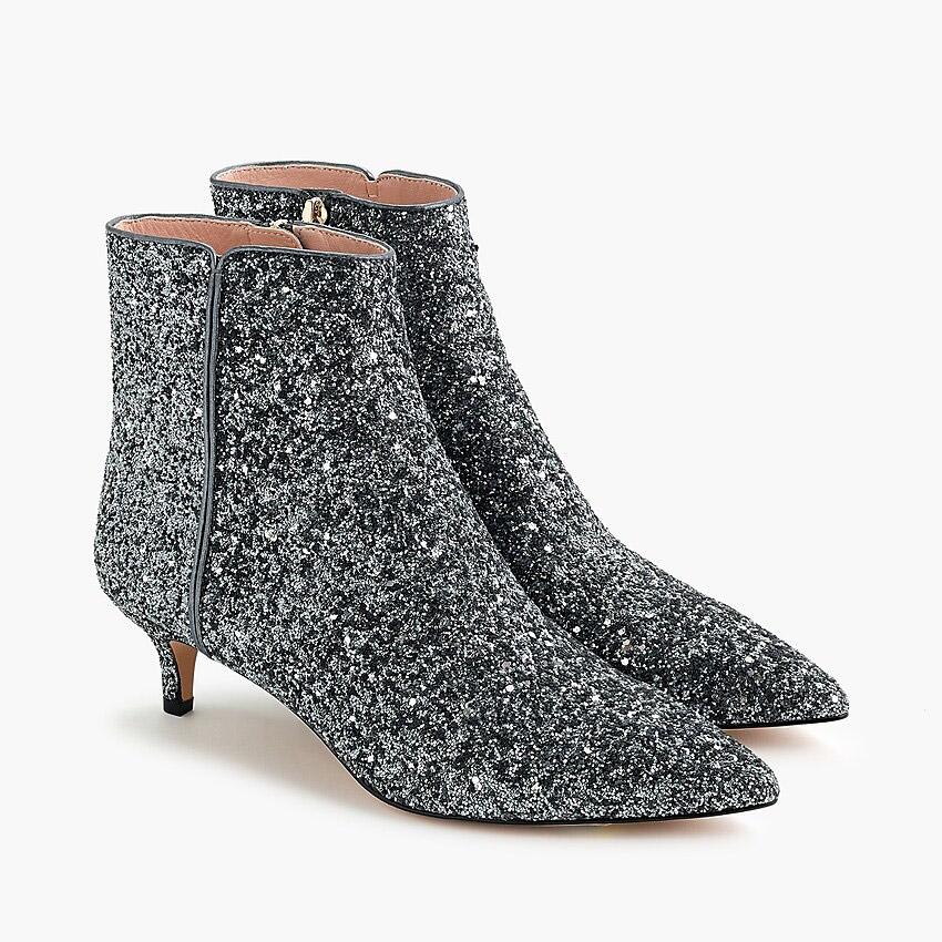 Glitter Bridal Boots