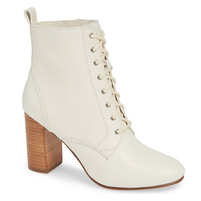 Lace Up Bridal Boots