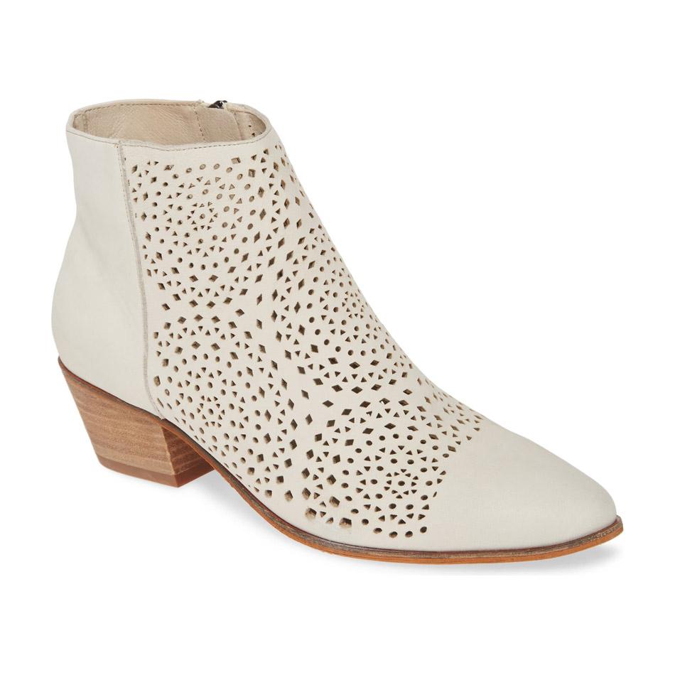 Short Heeled Bridal Boot