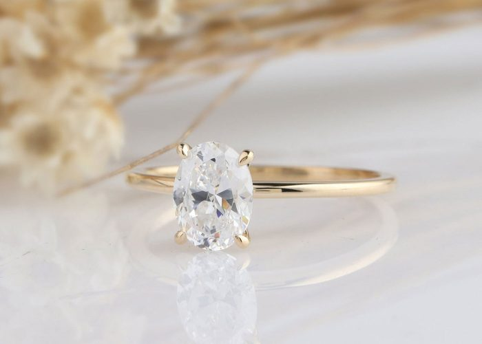 19 Affordable Moissanite Engagement Rings