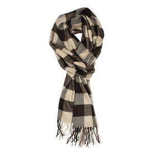 buffalo check scarf