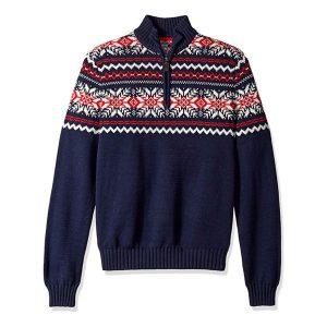 fairisle sweater for men