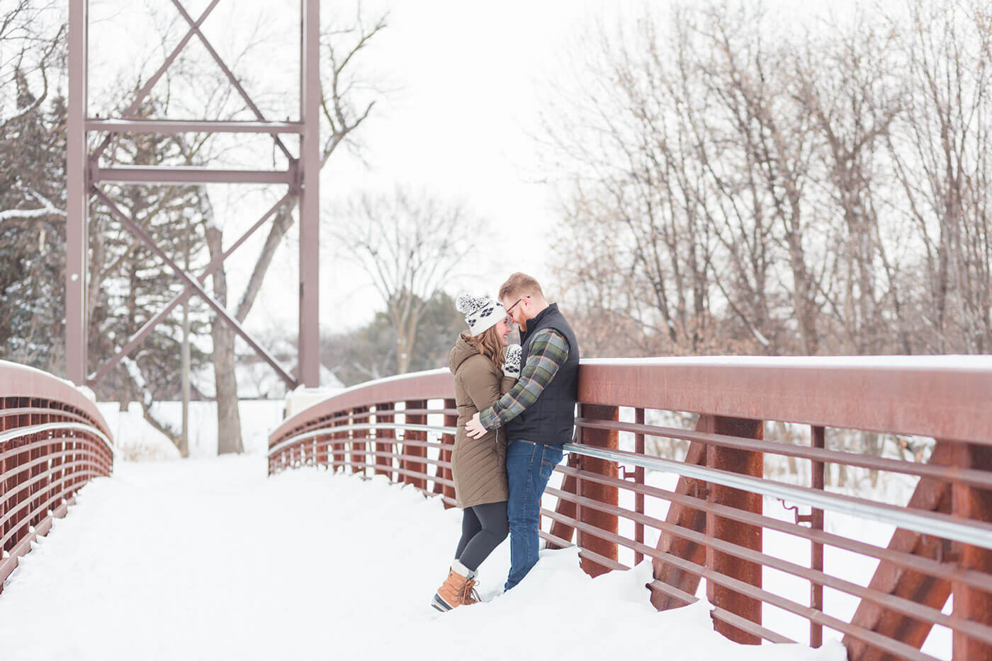North Dakota Winter Engagement