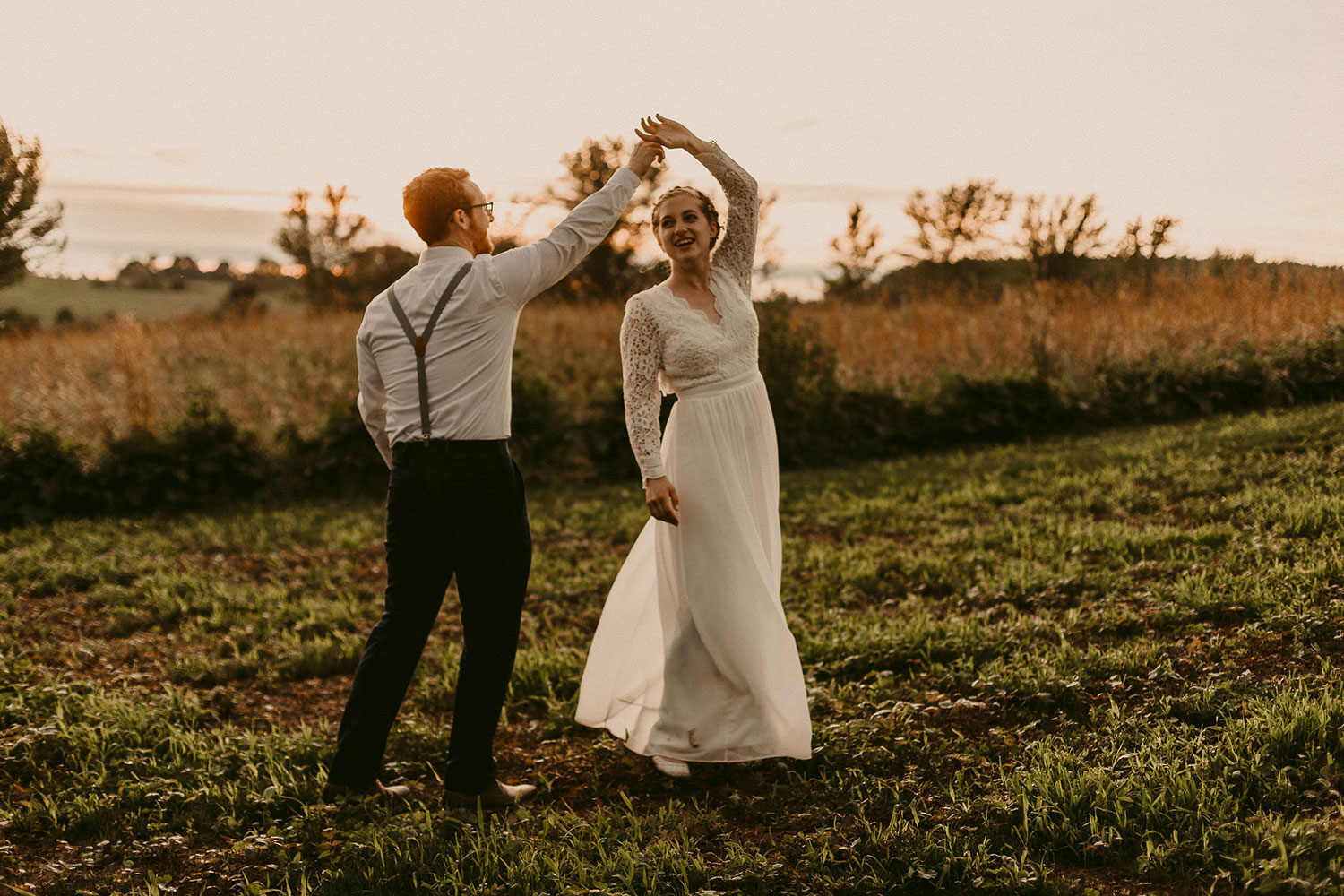 wisconsin farm wedding
