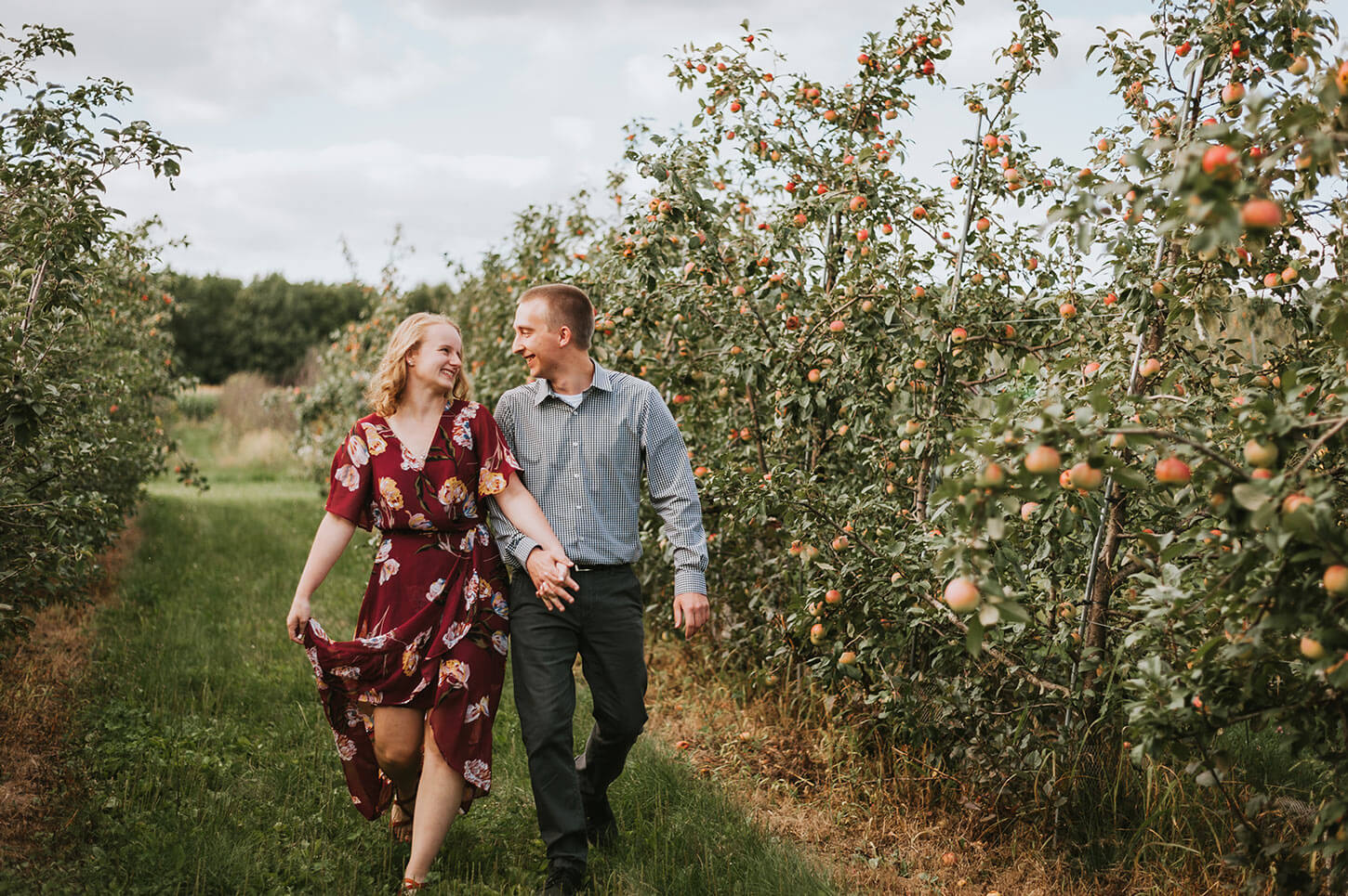 Wisconsin Wedding Orchard