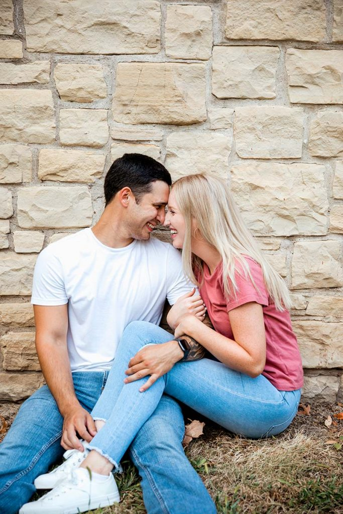 Alec & Delia - Engagement Session in Rock Island, Ilinois