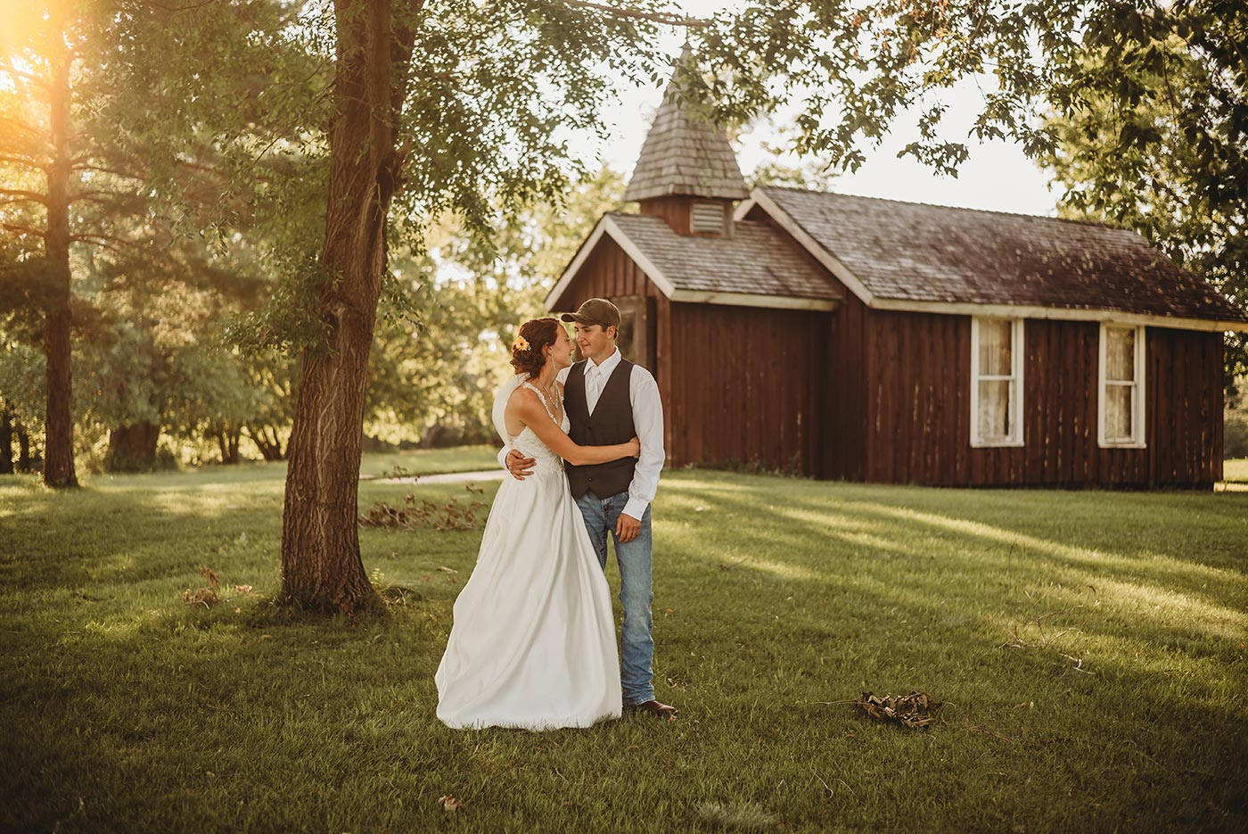 Antique Tractor Club Wedding in Park Rapids, Minnesota