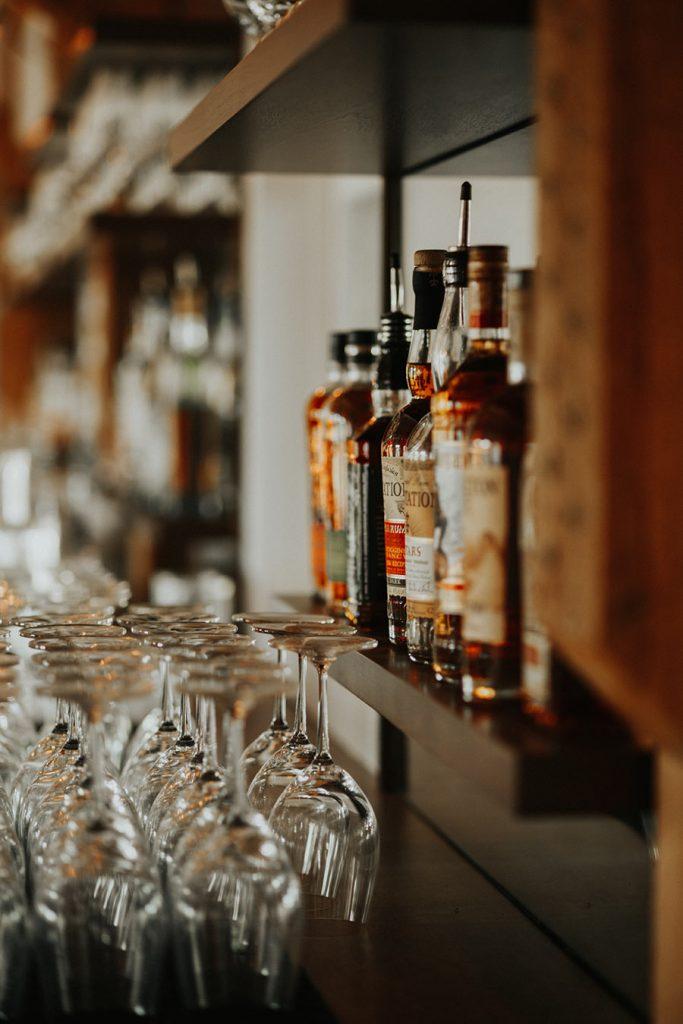 Bar at Northern Haus in Sister Bay Wisconsin