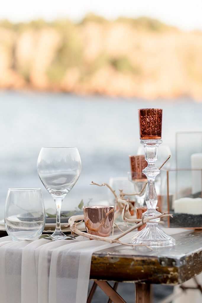 Copper Wedding Decorations