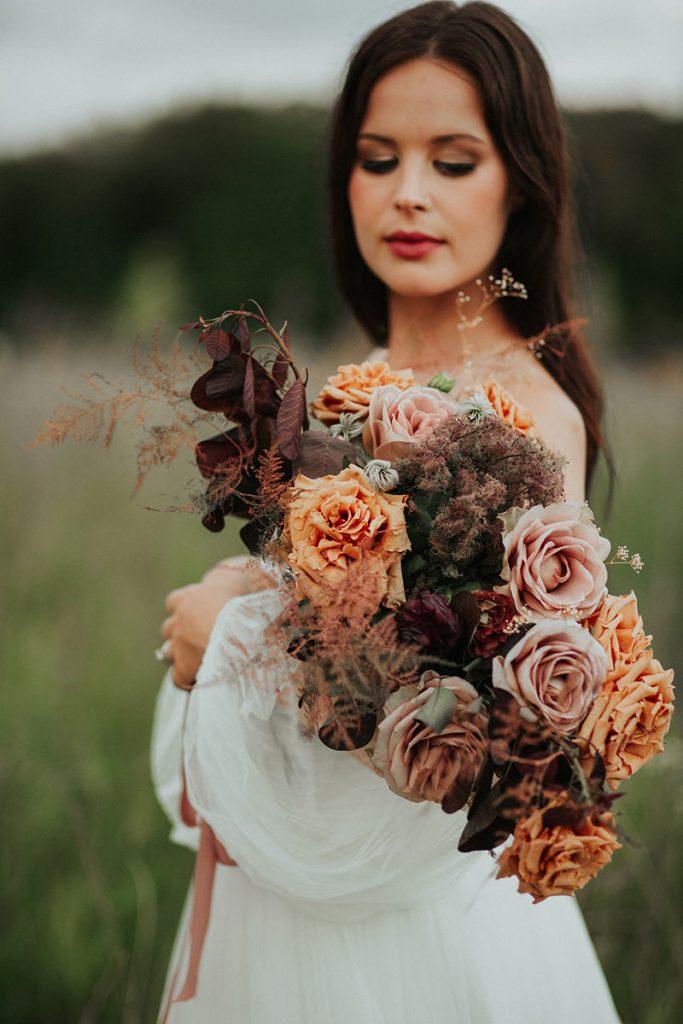 Eclectic Farmhouse Wdding Bouquet