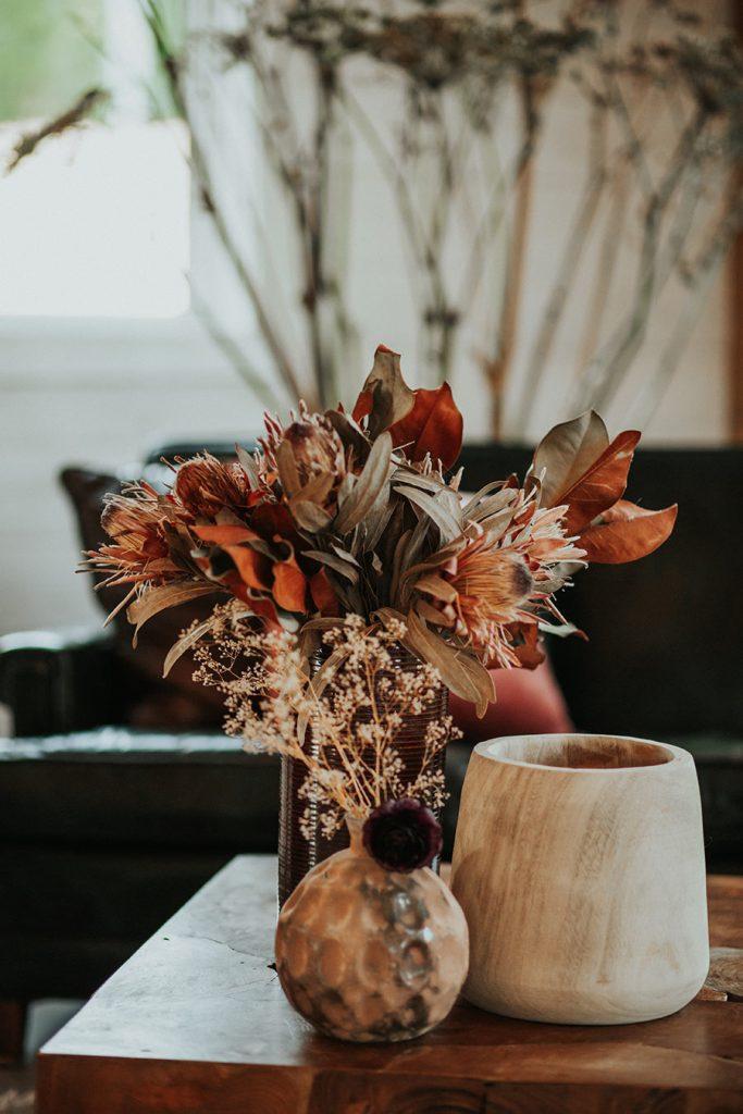 Farmhouse Wedding Floral Decor
