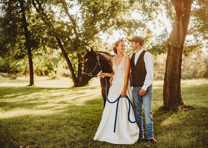 Small Town Minnesota Wedding
