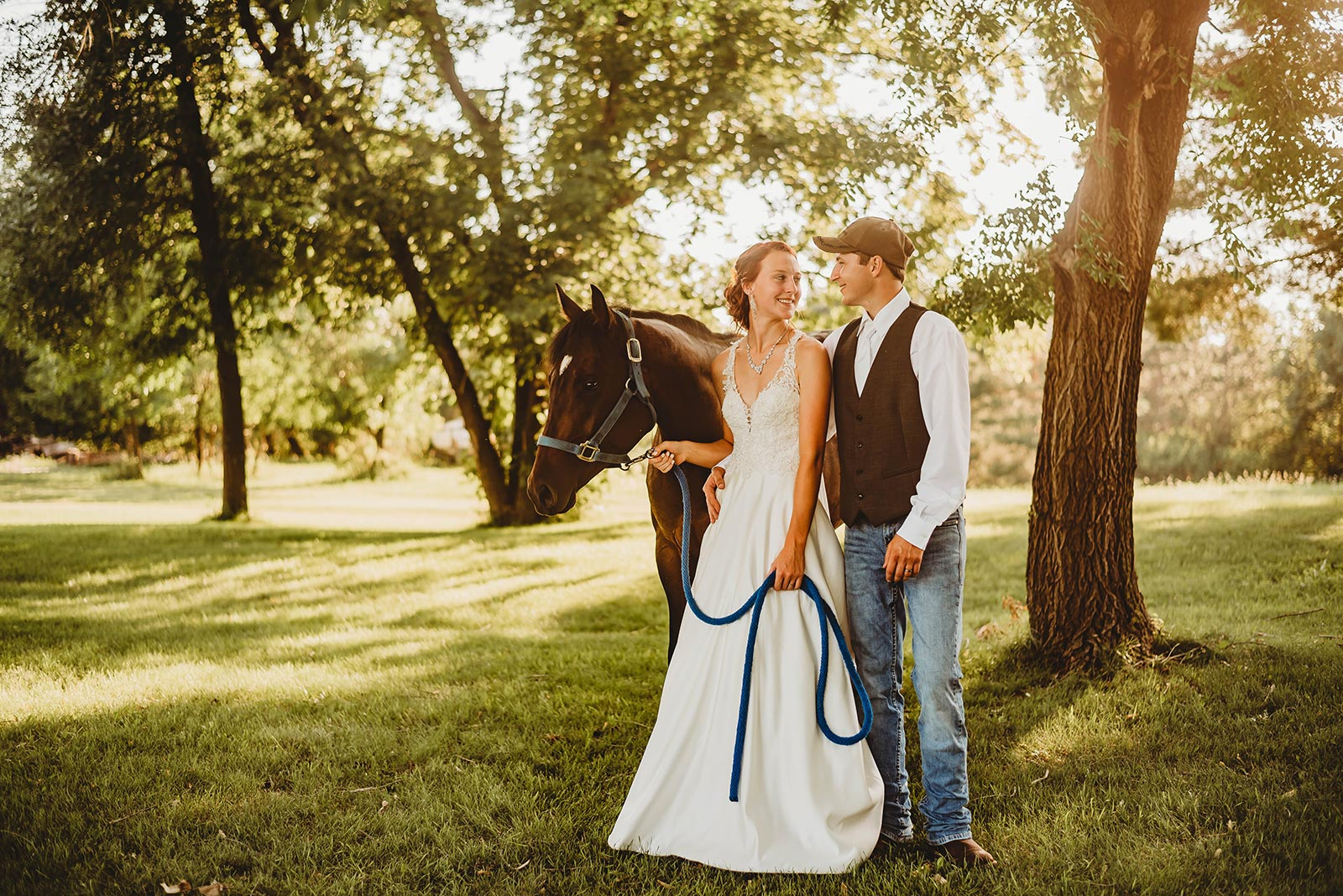 Small Town Minnesota Wedding