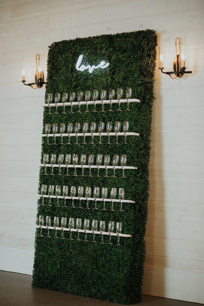 Wedding Glasses on Display